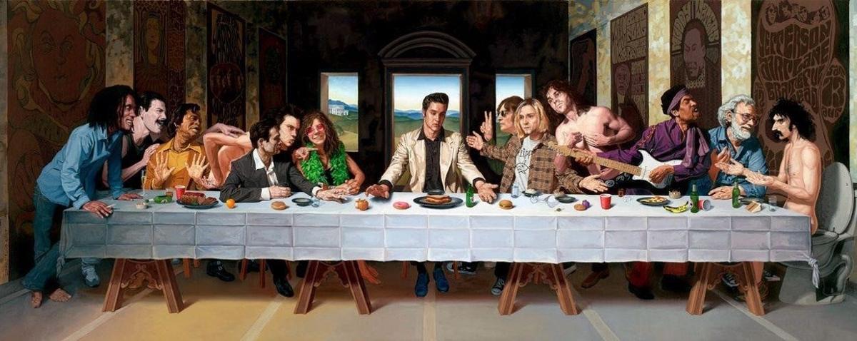 La Cene The Last Rock Supper